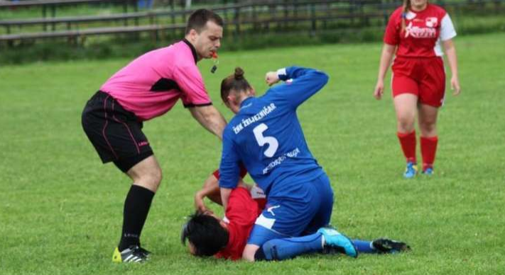 Female Footballers Faces Life Ban For Fighting On The Pitch