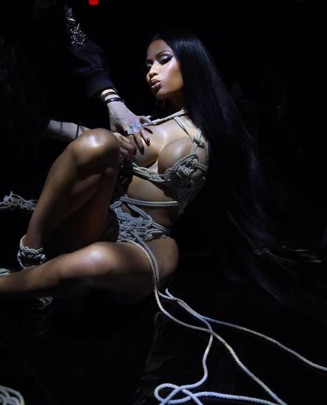 Nicki Minaj shares sexy new photos - Olori Supergal