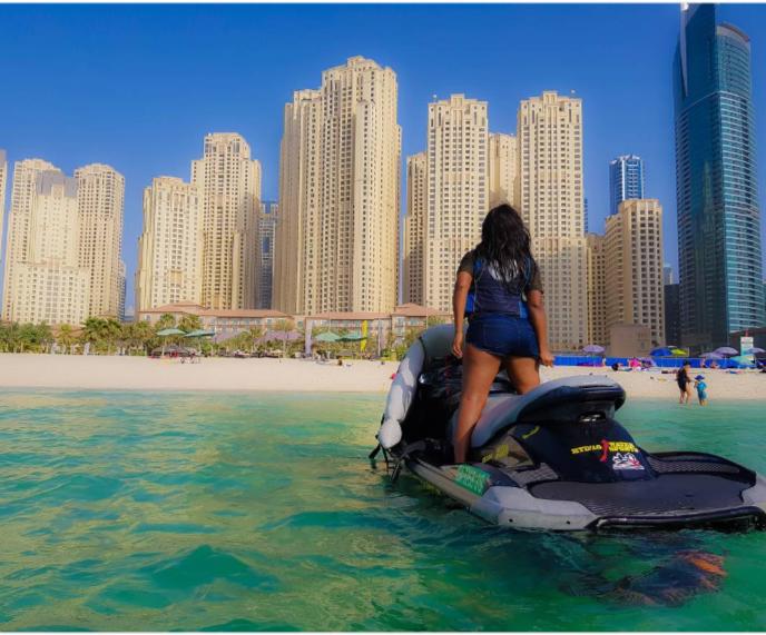 Danielle Okeke in Dubai