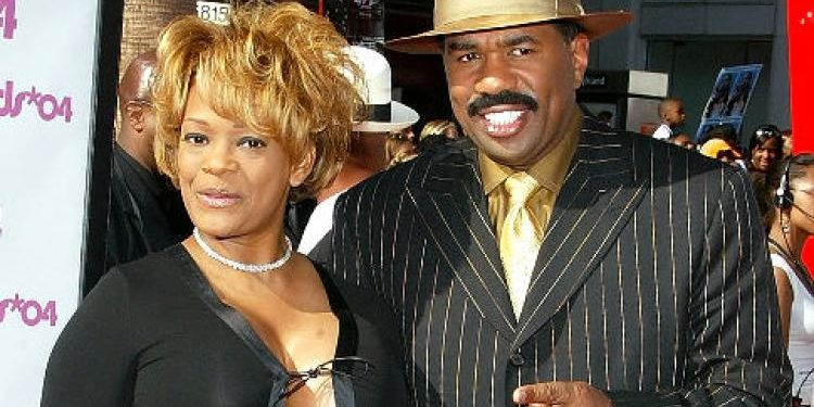 Steve Harvey and ex wife, Mary