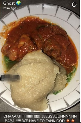 anthony joshua plate of eba