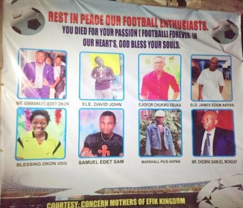 Victims Who Died At Calabar Viewing Centre Tragedy