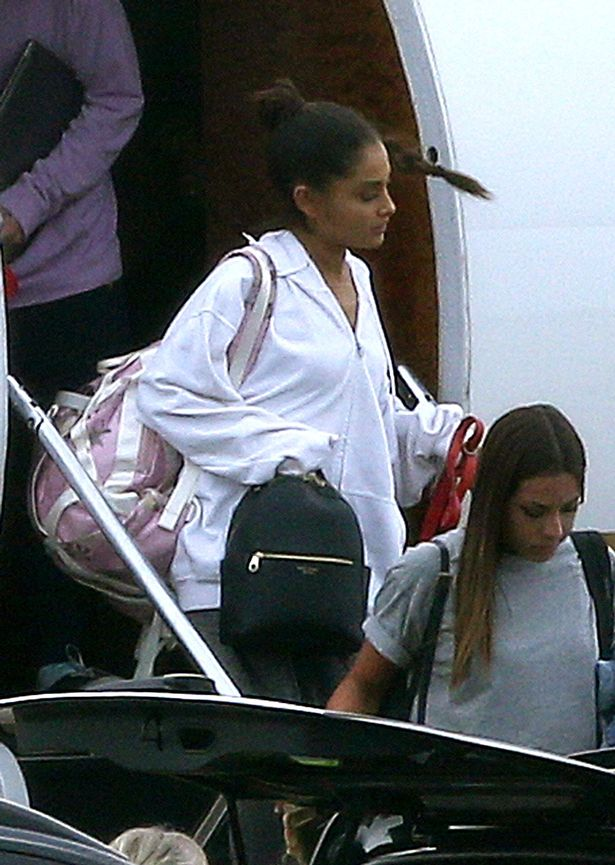 Image result for Ariana Grande arrives back in UK for One Love Manchester benefit gig