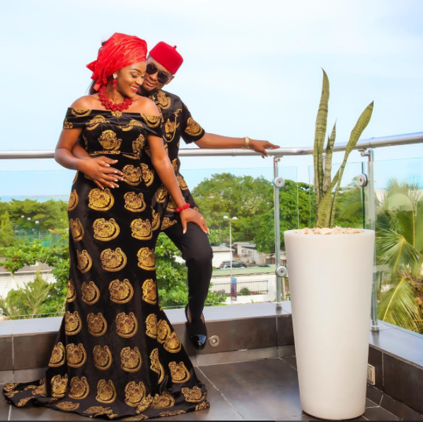 Chacha Eke And Husband Celebrate 4th Wedding Anniversary