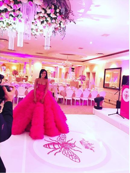 Photos From Bonang Matheba S Star Studded Birthday