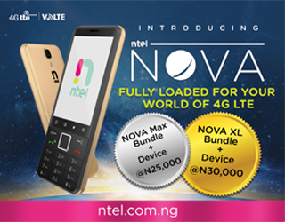 ntel launches NOVA 4G/LTE dual-SIM phone