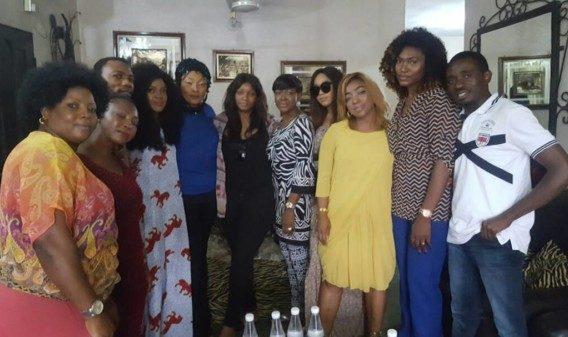 Eucharia Anuobi condolence visit - olorisupergal