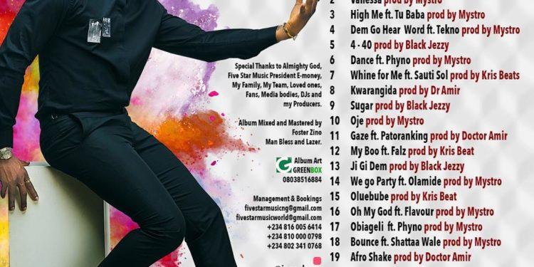 Kcee Album Tracklist - OLORISUPERGAL