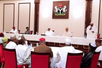 President Buhari meet with APC & PDP Leaders - olorisupergal
