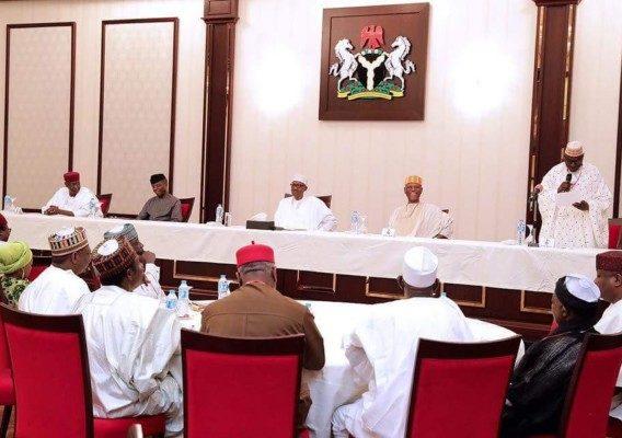 President Buhari meet with APC & PDP Leaders - olorisupergal
