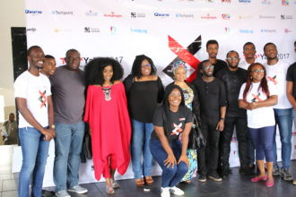 Speakers and members of the TEDxYaba team-OLORISUPERGAL