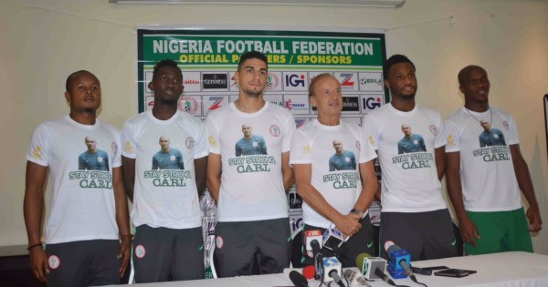 Super Eagle wear Carl Ikeme t-shirt - OLORISUPERGAL