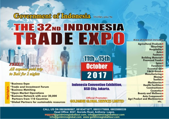 Indonesia Trade Expo - olorisupergal