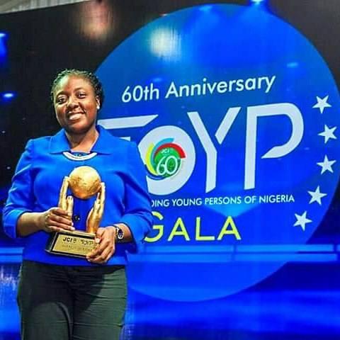 Adepeju Jaiyeoba, JCI TOYP World Recipient - OLORISUPERGAL