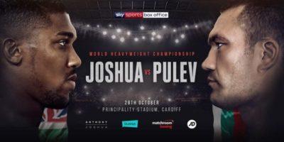 Anthony Joshua and Kubrat Pulev - OLORISUPERGAL