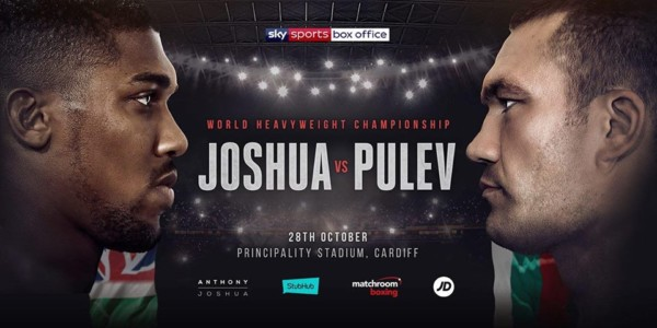 Anthony Joshua and Kubrat Pulev - OLORISUPERGAL
