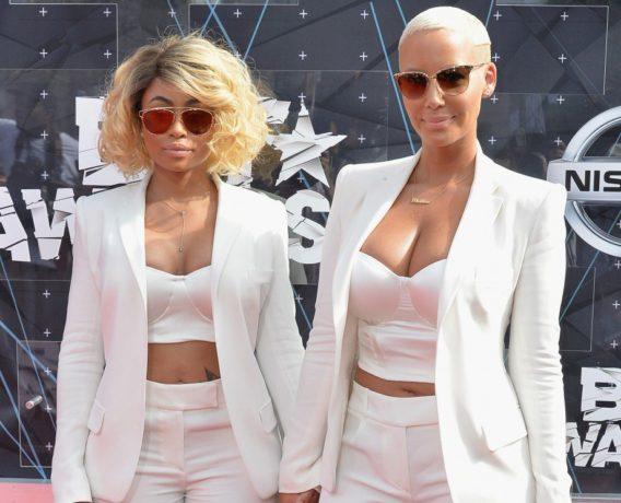 Blac Chyna and Amber ROSE - OLORISUPERGAL