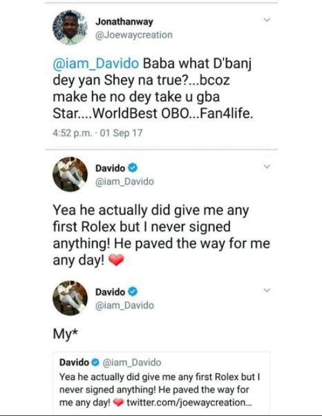 Davido and D'banj - OLORISUPERGAL