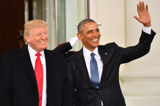 Donald Trump and Barack Obama - OLORISUPERGAL
