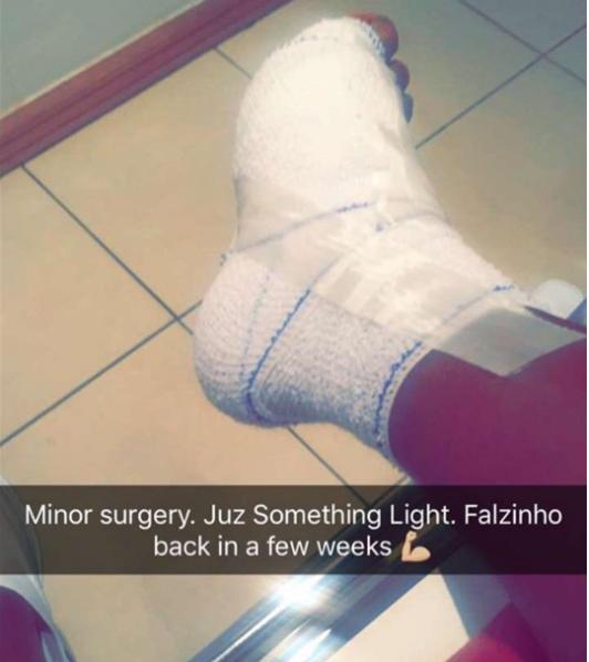 Falz injury - OLORISUPERGAL