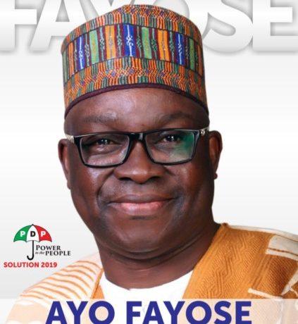 Fayose Presidential Campaign Poster - OLORISUPERGAL