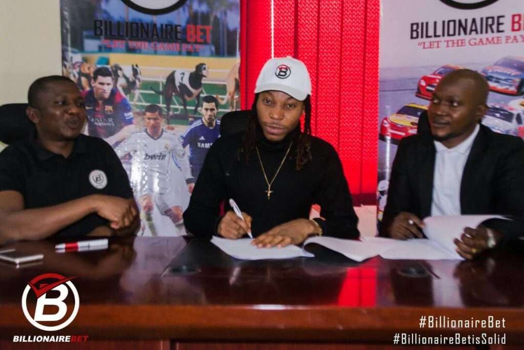 Solidstar as Billionaire Bet Ambassador - olorisupergal