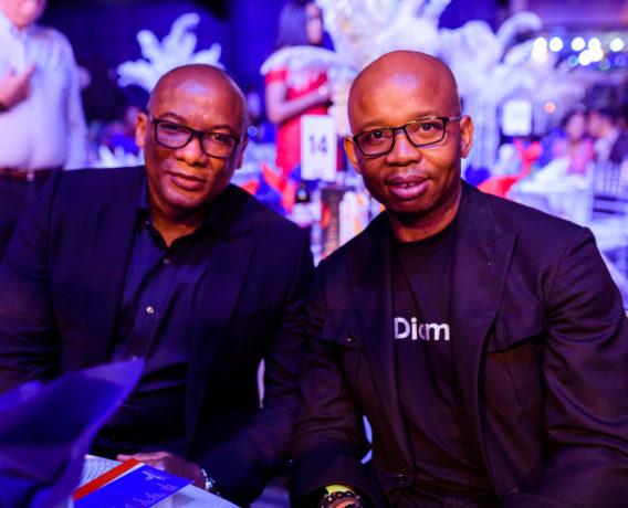 GMD, Interswitch, Mitchell Elegbe and CEO, Diamond Bank, Uzoma Dozie