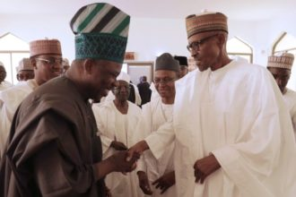 Governor Amosun and President Buhari - OLORISUPERGAL