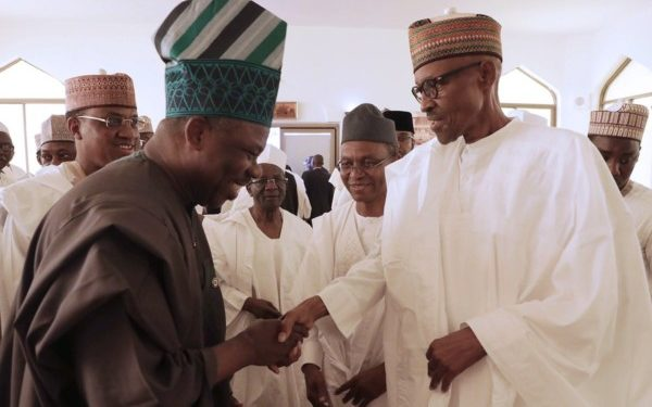 Governor Amosun and President Buhari - OLORISUPERGAL