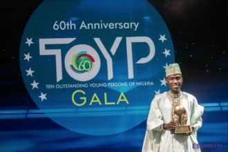 Imrana Alhaji Buba, JCI TOYP World recipient - OLORISUPERGAL