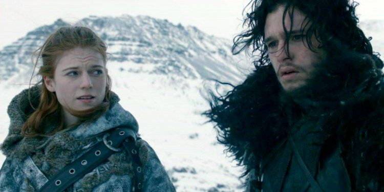 Kit Harington and Rose Leslie - OLORISUPERGAL