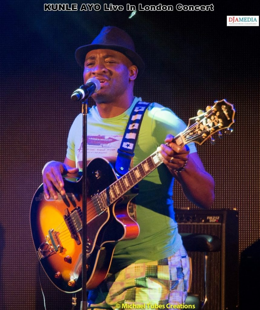 Kunle Ayo live in London