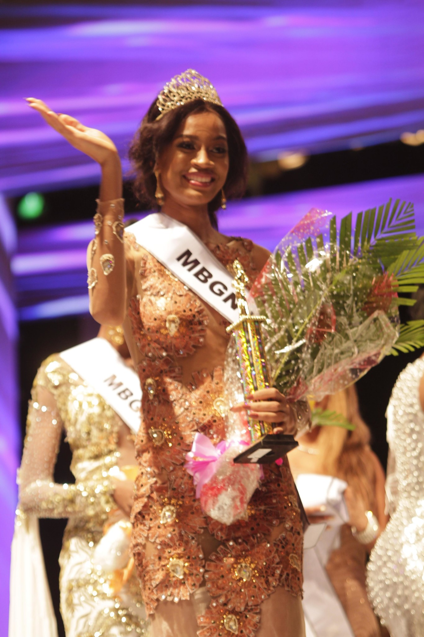 Who Is The Winner Of Miss World 2017 >> Miss Kebbi Ugochi Ihezue Emerges Winner of the 2017 MBGN Beauty Pageant