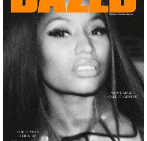 Nicki Minaj on Dazed Magazine cover - OLORISUPERGAL