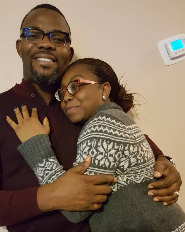 OKEY BAKASSI AND WIFE-OLORISUPERGAL