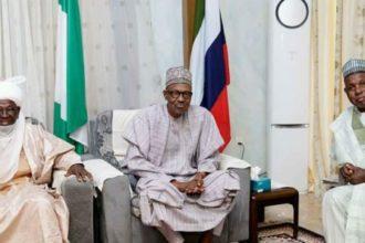 President Buhari and Kastina Governor - OLORISUPERGAL