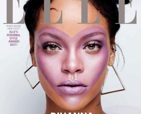 Rihanna covers elle magazine - OLORISUPERGAL
