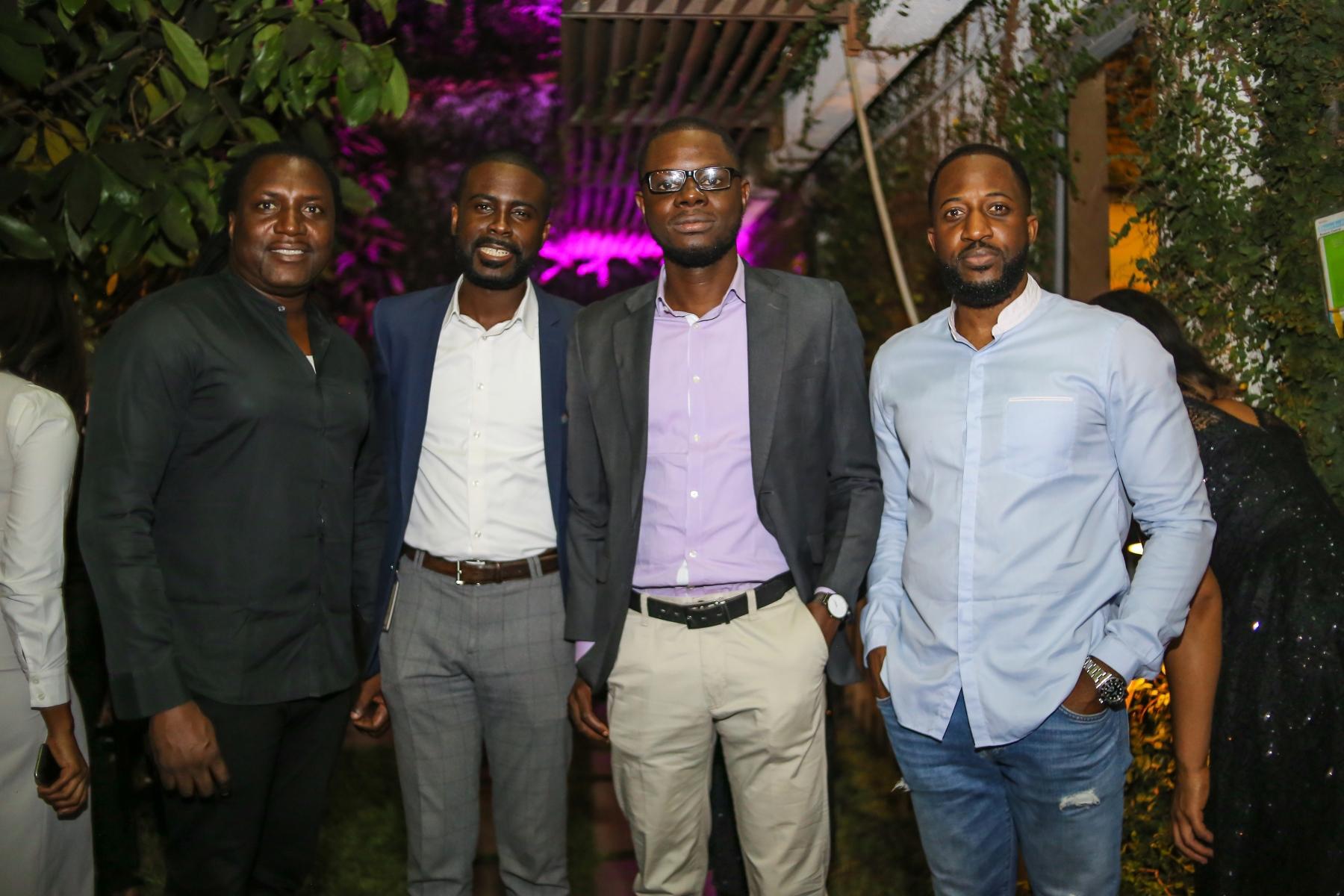 Steve Baba-Eko (Founder, X3M Group), Oluseye Soyode-Johnson (Founder, The African Technology Foundation), Oluyomi Ojo (Founder, Printivo), Olaotan Towry-Coker (Founder, AfriTickets.com and Cranium One)