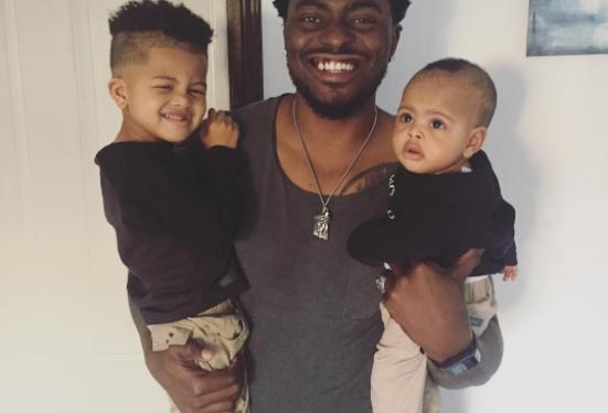 Tayo Faniran and his kids - OLORISUPERGAL
