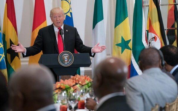Trump meet Buhar, African Leaders - OLORISUPERGAL