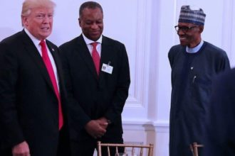 Trump meet Buhar, African Leaders - OLORISUPERGAL