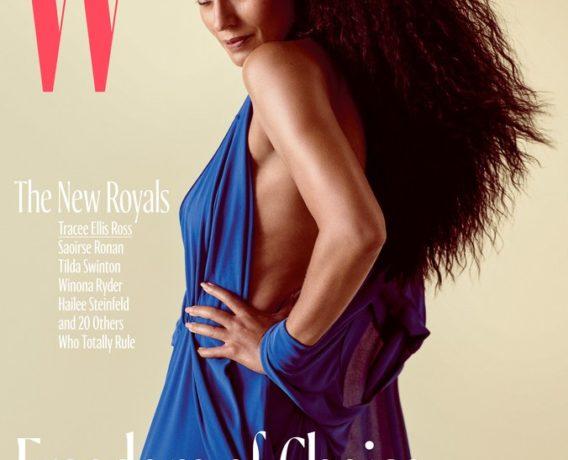 W Magazine cover - OLORISUPERGAL