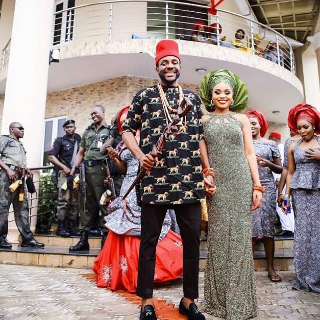Ebuka Obi-Uchendu and wife - OLORISUPERGAL