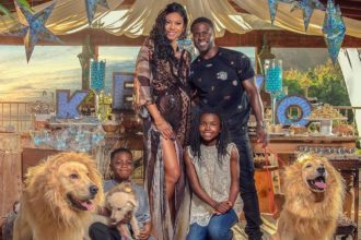 Kevin Hart and Family - OLORISUPERGAL