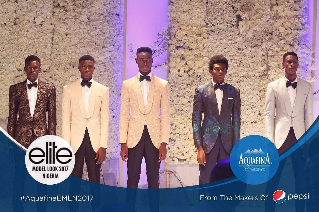 #AquafinaEMLN2017 Top 5 Male contestants - OLORISUPERGAL