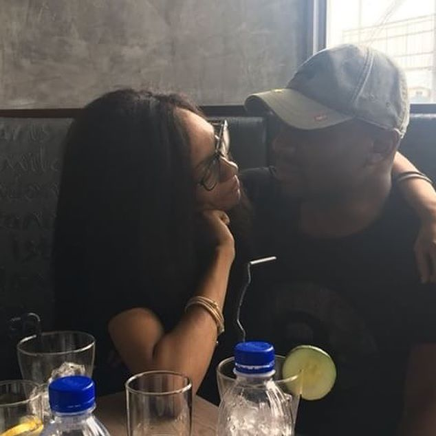 Di'ja and husband, Rotimi - OLORISUPERGAL