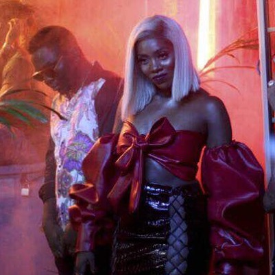 "B.T.S Photos from Tiwa Savage Music Video ""Ma Lo"" - OLORISUPERGAL"