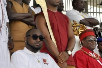Davido and Oba of Benin - OLORISUPERGAL