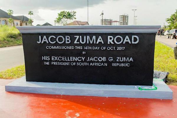 Jacob Zuma Statue in Imo State - OLORISUPERGAL