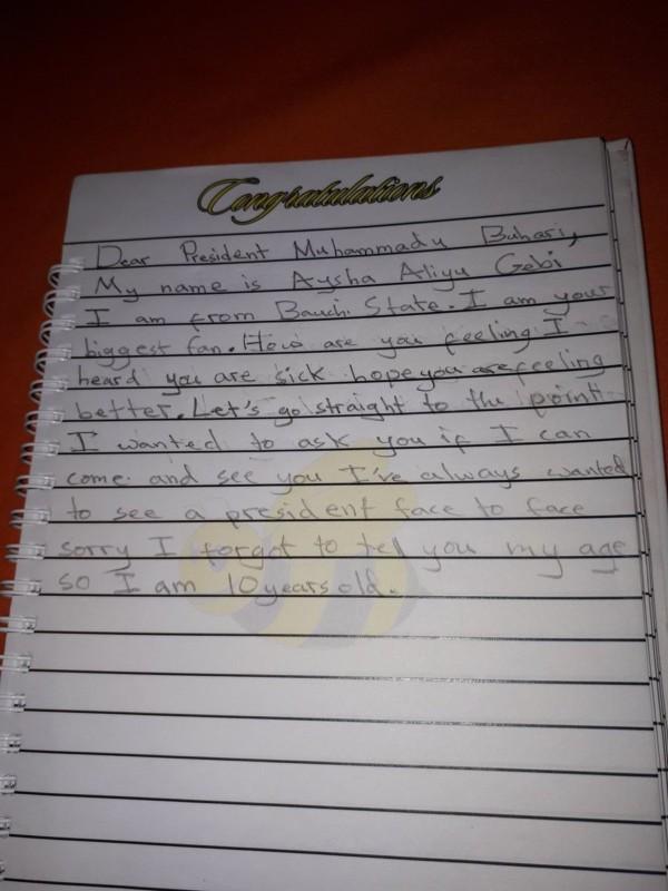 Aysha Aliyu Gebi letter to President Buhari - OLORISUPERGAL